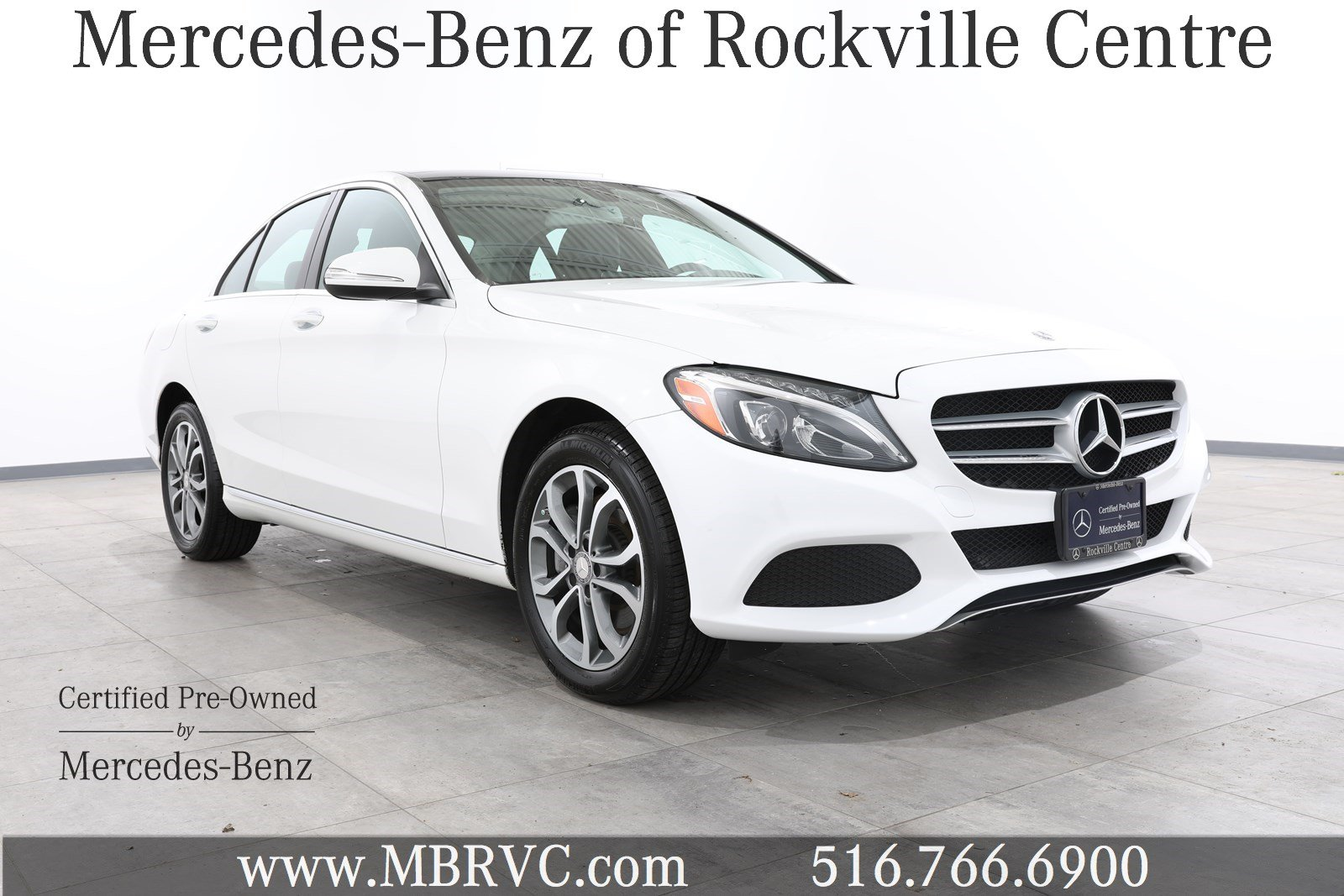 Certified pre owned 2015 mercedes benz c class c 300 sedan for Mercedes benz certified preowned