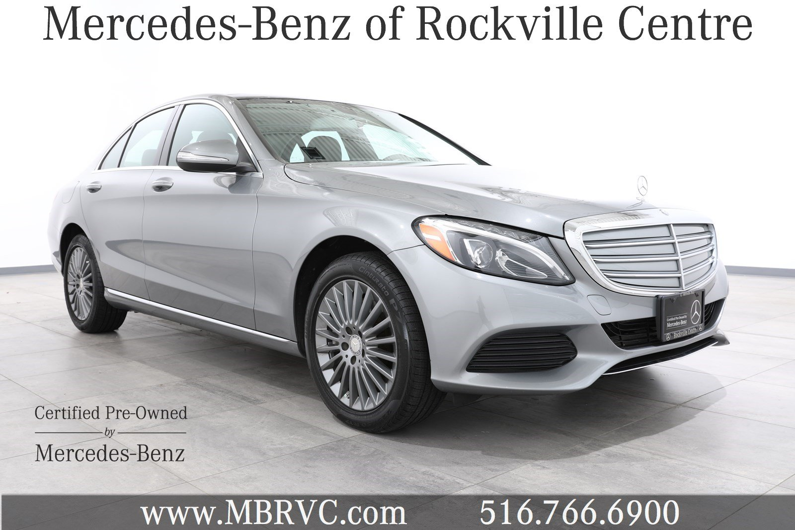 Certified pre owned 2015 mercedes benz c class 4dr sdn c for Mercedes benz rockville centre service