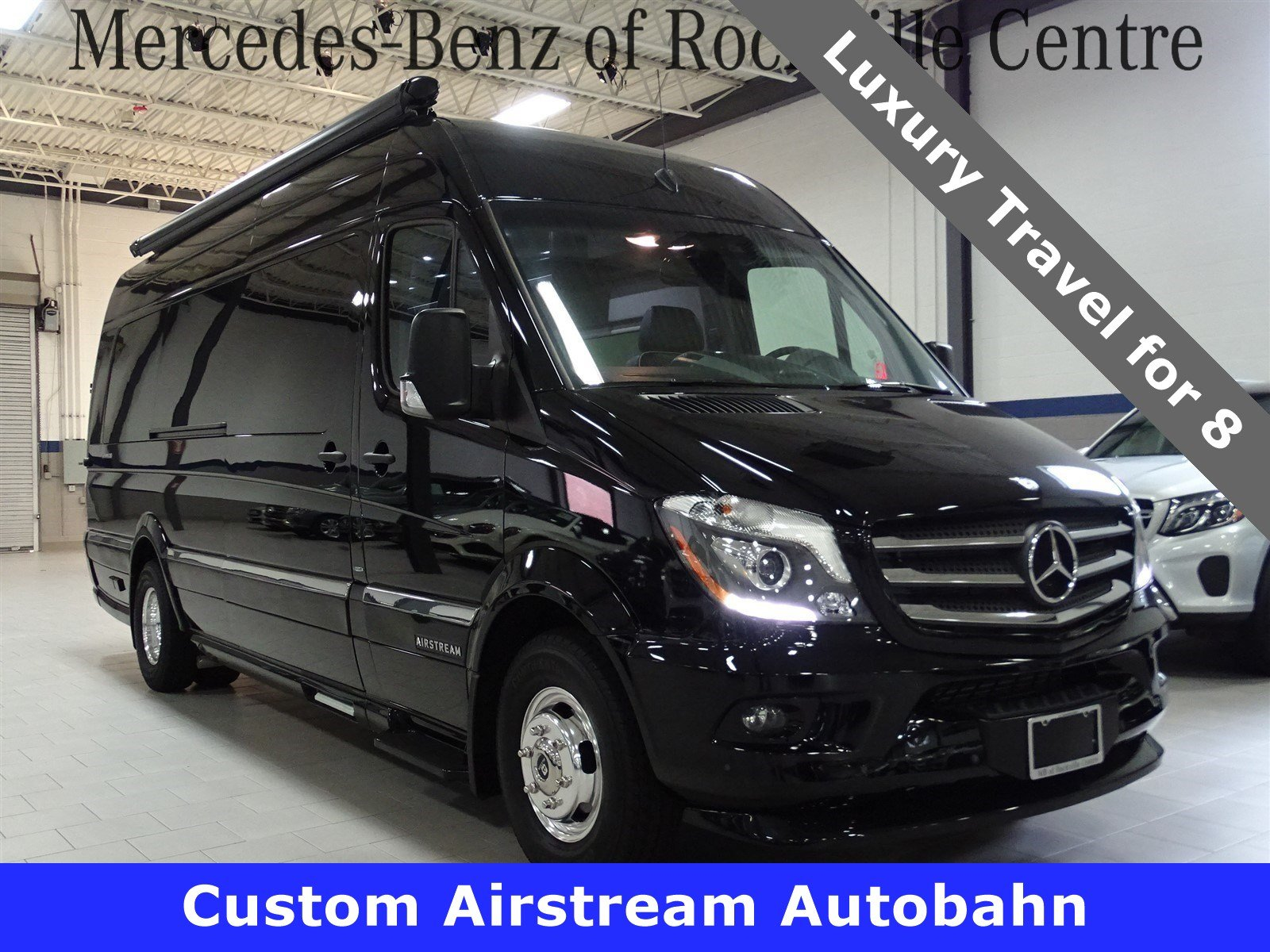 New 2015 mercedes benz sprinter airstream autobahn ext van for New mercedes benz sprinter