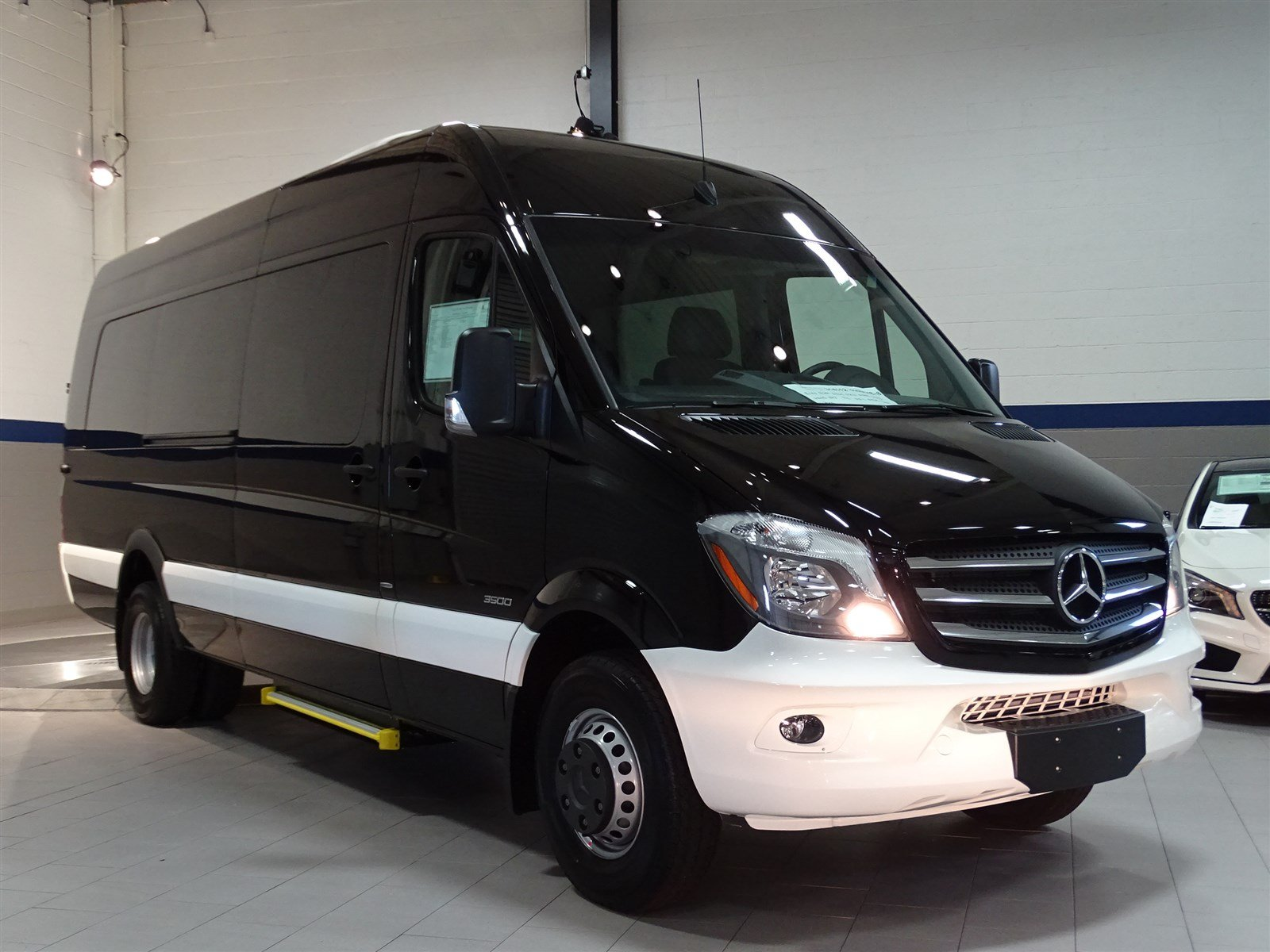 New 2016 mercedes benz sprinter cargo vans ext van in for Mercedes benz work vans