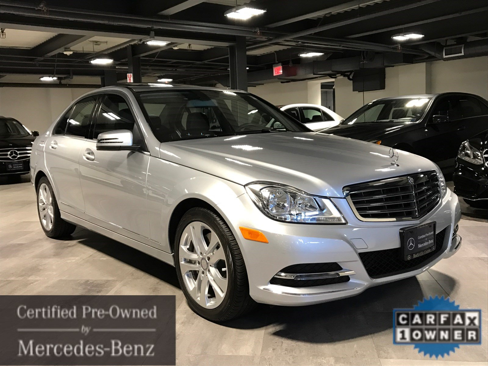 Certified pre owned 2014 mercedes benz c class c300 sport for Certified mercedes benz