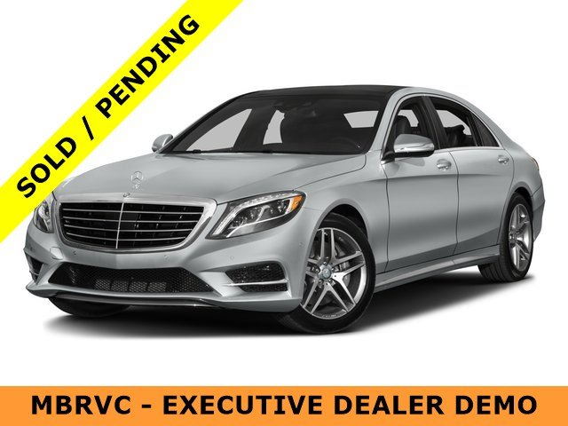 Pre owned 2016 mercedes benz s class s550 4dr car in Mercedes benz certified pre owned lease