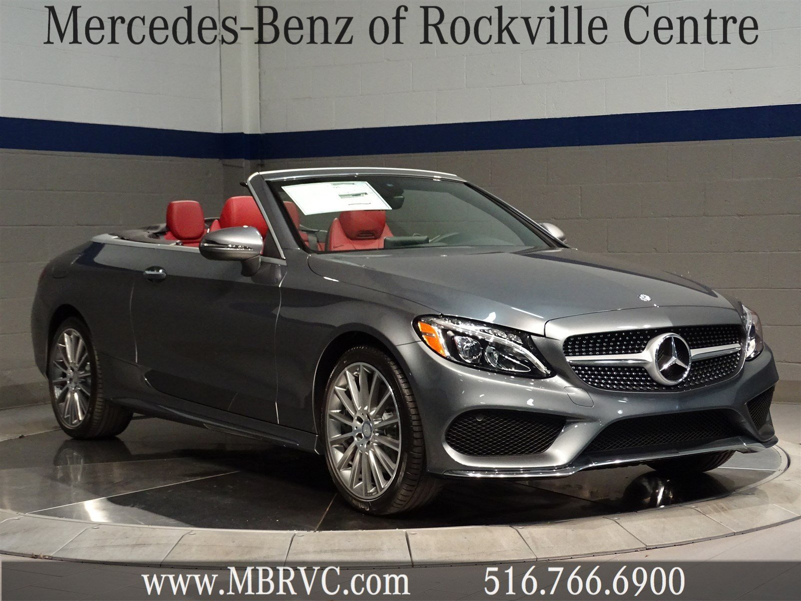 New 2017 mercedes benz c class c 300 sport convertible in for Mercedes benz c class service b