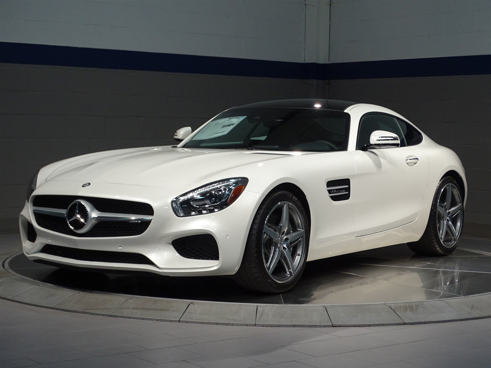 New 2017 mercedes benz amg gt coupe in rockville centre for 2017 mercedes benz amg gt msrp