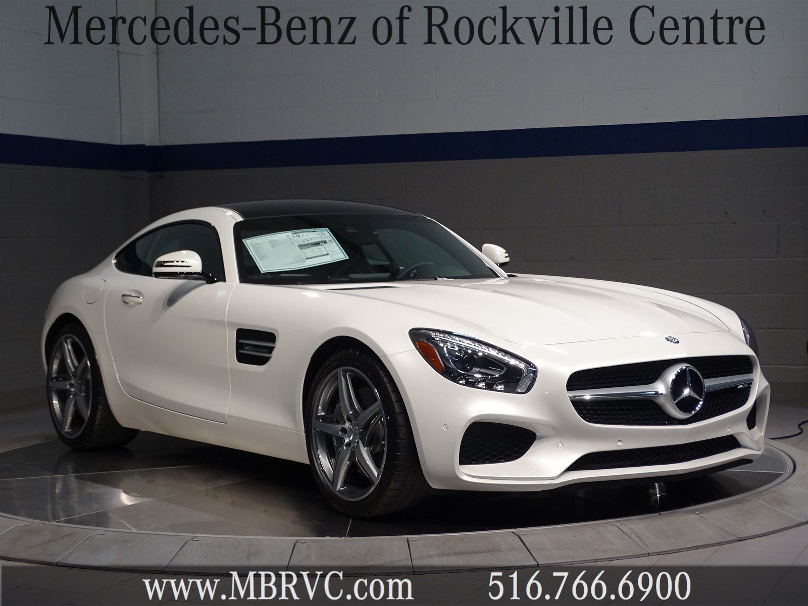 New 2017 mercedes benz amg gt amg gt coupe in rockville for Mercedes benz rockville centre